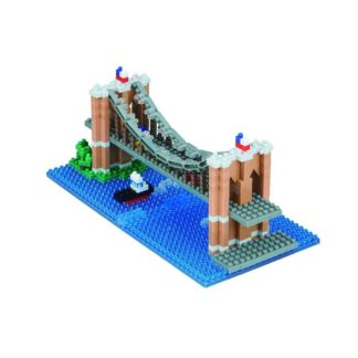 Nanoblock Sights to See - Brooklyn Bridge (NBH-169) | LeVida Toys