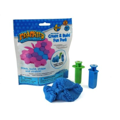 Mad Mattr Create & Build Fun Pack Blue - 2oz/57g | LeVida Toys
