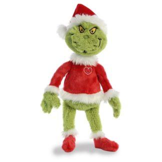 Santa Grinch 19 Inch soft toy by Aurora (15900) | LeVida Toys