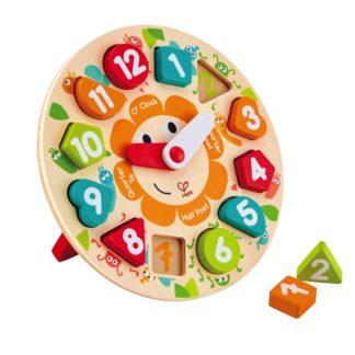 Hape Chunky Clock Puzzle (E1622) | LeVida Toys