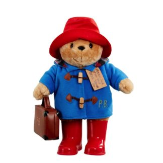 Classic Cuddly Paddington With Boots and Suitcase (33cm) | LeVida Toys