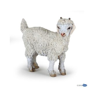 Papo Young Angora Goat - Farmyard Friends figure - 51171   LeVida Toys