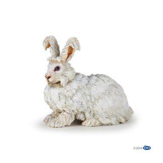 Papo Angora Rabbit - Farmyard Friends figure - Papo 51172 | LeVida Toys