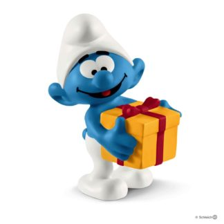 Schleich Smurf with Present The Smurfs - Schleich 20816 | LeVida Toys