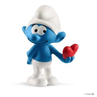 Schleich Smurf with Heart The Smurfs - Schleich 20817 | LeVida Toys