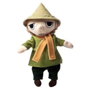 Moomins: Snufkin 6.5 Inch soft toy by Aurora (13202) | LeVida Toys
