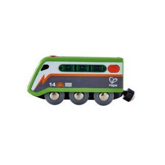 Hape Solar-Powered Train (E3760) for wooden railway sets | LeVida Toys