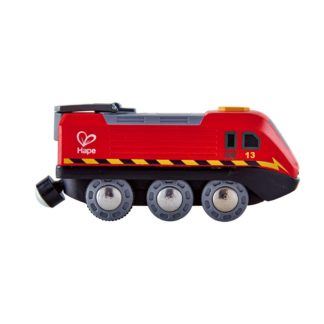 Hape Crank-Powered Train (E3761) for wooden railway   LeVida Toys