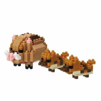Nanoblock Mini Collection: Boars (Pigs) (NBC-285) | LeVida Toys