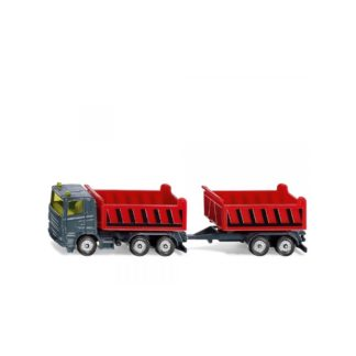 Siku Truck With Dumper Body and Tipping Trailer (1685) | LeVida Toys