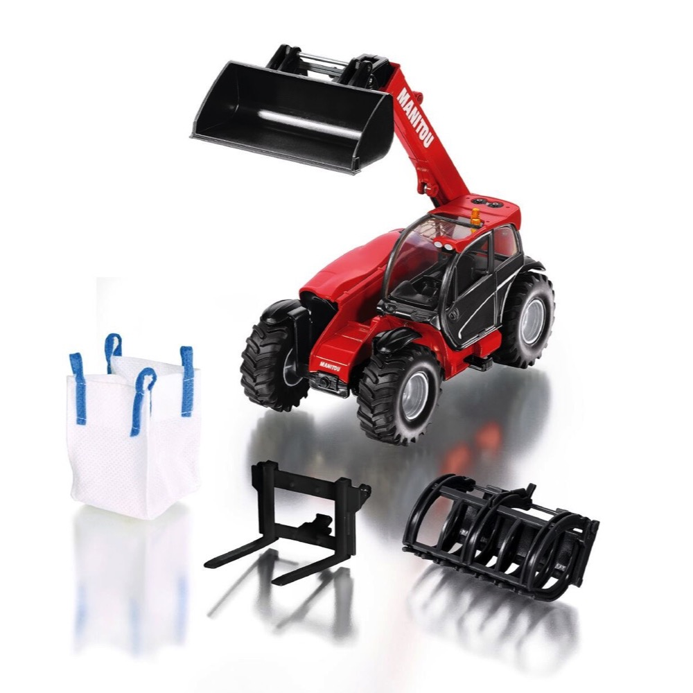 ce5cde6061 Siku Manitou MLT840 Telehandler with Accessories model 1 32 (8613)