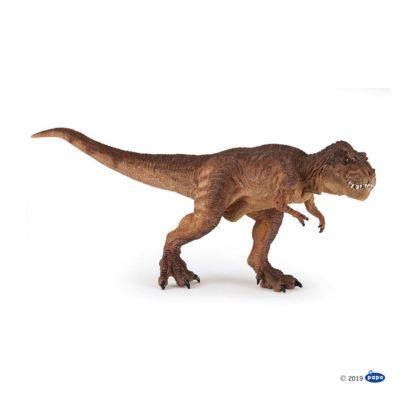 Brown Running T-Rex (Papo 55075) | LeVida Toys