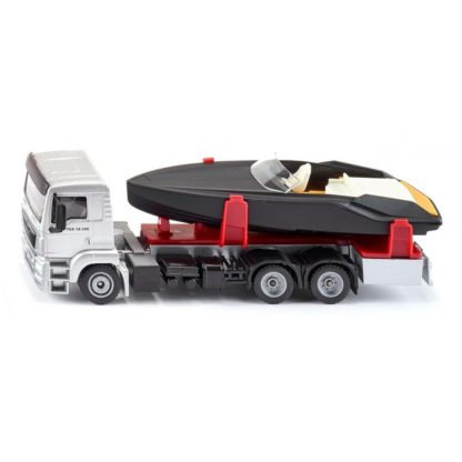 MAN Truck With Motorboat 1:50 (Siku 2715) | LeVida Toys