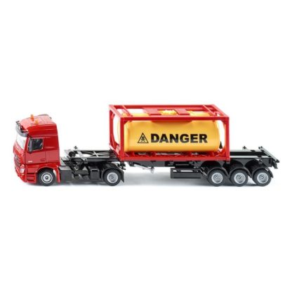 Mercedes-Benz Truck with Tank Container 1:50 (Siku 3922) | LeVida Toys