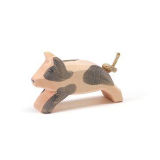 Ostheimer Spotted Piglet Running - 109554 | LeVida Toys