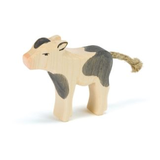 Ostheimer Calf Black and White Standing - Ostheimer 11044 | LeVida Toys