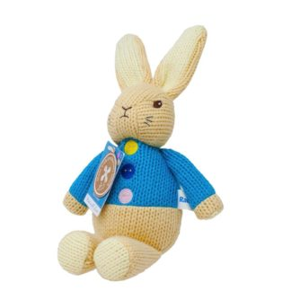 Peter Rabbit Made With Love Knitted Toy | LeVida Toys