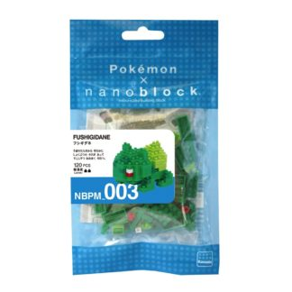 Pokemon Bulbasaur (Nanoblock NBPM-003) | LeVida Toys
