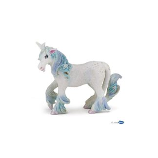 Papo Ice Unicorn figure (Model Number 39104) | LeVida Toys