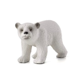 Polar Bear Cub Walking (Animal Planet 387020) | LeVida Toys