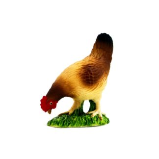 Hen Eating figure (Animal Planet 387053) | LeVida Toys