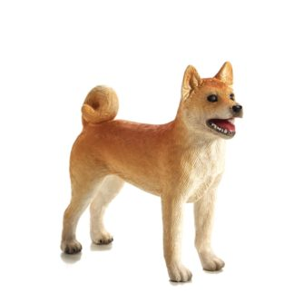 Shiba Inu Dog Figure (Animal Planet 387140) | LeVida Toys