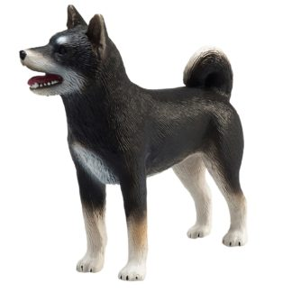 Shiba Inu Black (Animal Planet 387363) | LeVida Toys