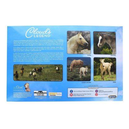 Cloud's Legend Set of 4 Horses (Breyer Classics Range - 1808) | LeVida Toys