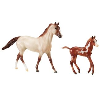 Running Wild Horse and Foal Set (Breyer Freedom Series 62204) | LeVida Toys