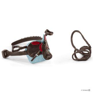 Hannah & Cayenne Saddle & Bridle (Schleich 42489) | LeVida Toys