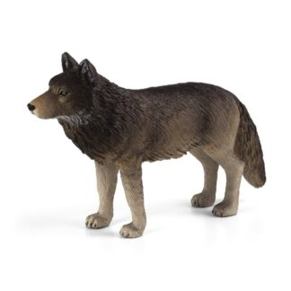 Timber Wolf Standing (Animal Planet 387025) | LeVida Toys