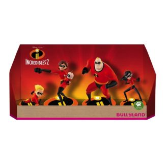 Incredibles 2 Gift Box with 4 Figures (Bullyland 13289) | LeVida Toys