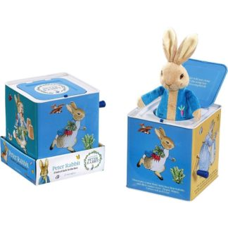 Peter Rabbit Musical Jack In The Box | LeVida Toys