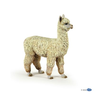 Alpaca figure (Papo Model No. 50250) | LeVida Toys