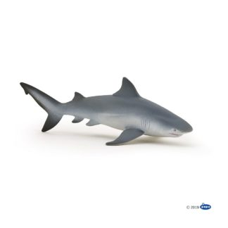 Bull Shark figure (Papo Model No. 56044) | LeVida Toys