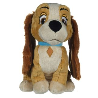 Disney Classic: Lady Soft Toy (Lady and the Tramp) | LeVida Toys