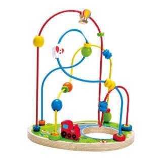 Playground Pizzaz Bead Maze (Hape E1811) | LeVida Toys
