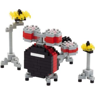 Drum Set Red (Nanoblock NBC-123) | LeVida Toys