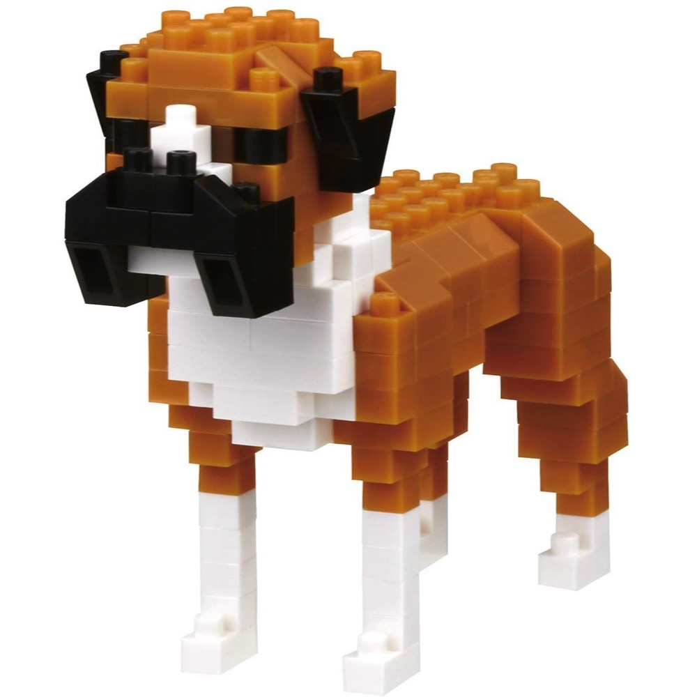 Boxer Dog building set (Nanoblock NBC-254) | LeVida Toys