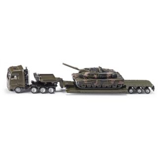 Man Low Loader with Leopard Tank 1:87 (Siku 1872) | LeVida Toys