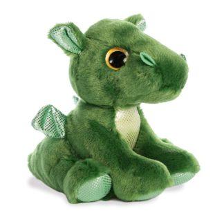 Rumble Dragon 7 Inch Green Soft Toy | LeVida Toys