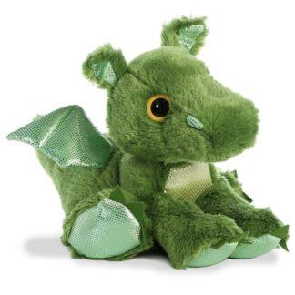Roar Dragon 12 Inch Green Soft Toy | LeVida Toys