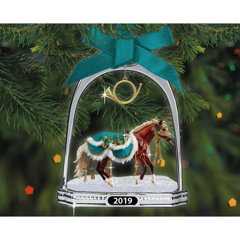 Limited Edition - Breyer Minstrel 2019 Stirrup Ornament | LeVida Toys