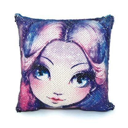 Magic Sequin Cushion - Nebulia (Nebulous Stars 11620) | LeVida Toys