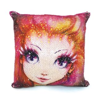 Magic Sequin Cushion - Petulia (Nebulous Stars 11620) | LeVida Toys