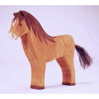 Horse Brown (Ostheimer 11112) | LeVida Toys