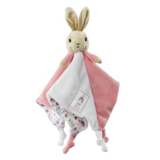 Flopsy Rabbit Comfort Blanket by Rainbow Designs | LeVida Toys
