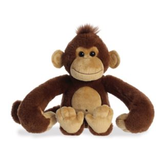 Aurora: Hang n Swing Monkey 13 Inch soft toy | LeVida Toys
