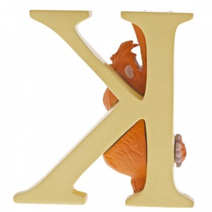 """K"" - King Louie - Disney Letter 