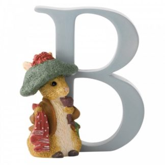 """B"" Benjamin Bunny - Peter Rabbit Letter | LeVida Toys"